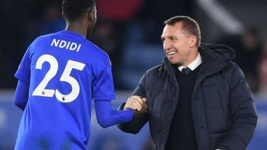 Photo of Wolverhampton v Leicester: Brendan Rodgers unsure of Wilfred Ndidi's involvement
