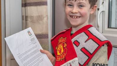 Photo of Jurgen Klopp's epic reply to Daragh a 10-year-old Man Utd fans asking Liverpool to lose games