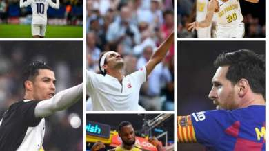 Photo of Federer tops as three footballers make the list of top 5 highest-paid athletes in 2020