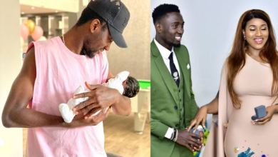 Photo of Wilfred Ndidi and wife Dinma welcome baby Jaina