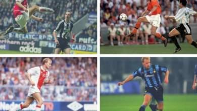 Photo of Arsenal legend Dennis Bergkamp picks his favourite career goal