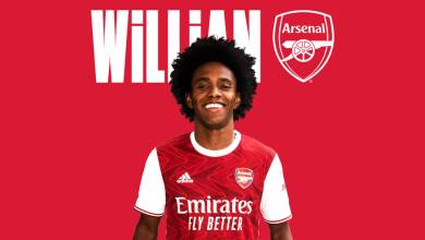 Photo of Arsenal sign Willian Borges until 2023 in a deal worth £220k a week