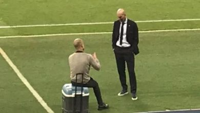 Photo of Pep gives details of chat with football idol Zidane after City-Madrid UCL clash