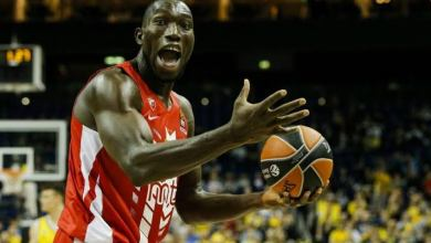 Photo of 7-feet-1-inch Nigerian basketballer Michael Ojo dies in Serbia