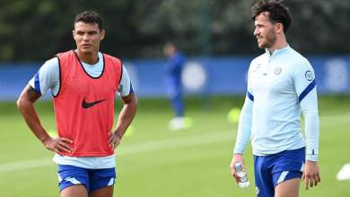 Photo of Silva, Chilwell train with Chelsea first team ahead of Liverpool clash