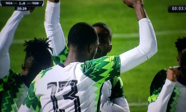 Suoer Eagles of Nigeria vs Tunisia