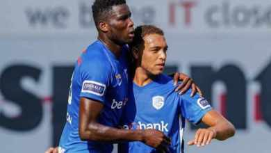 Photo of Onuachu, Dessers on target in Genk's 4-0 win against Eupen
