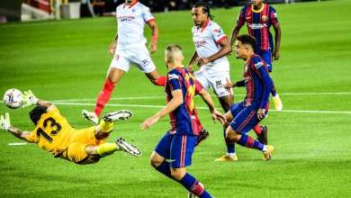 Photo of Barcelona 1-1 Sevilla: Coutinho on target as Koeman's side drop first points