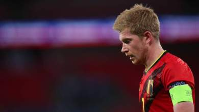 Photo of De Bruyne a doubt for City-Arsenal clash after suffering injury on Belgium duty