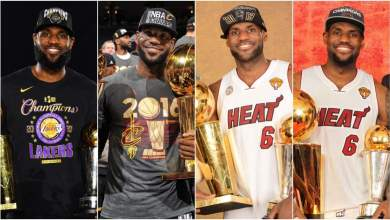 Photo of LeBron James sets record with fourth finals MVP awards