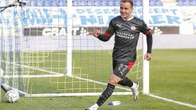 Photo of VIDEO: Mario Götze scores 8 min into Eredivisie debut in PSV win at Zwolle