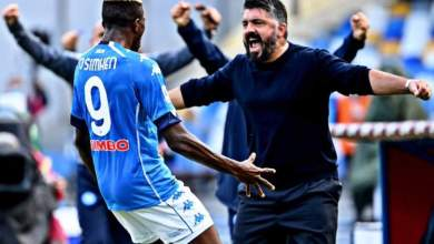 Photo of Gattuso talks on Osimhen's first goal and his impact on Napoli