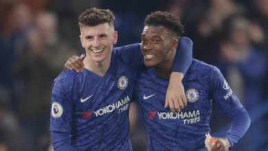 Photo of VIDEO: Mount's super pass and Hudson-Odoi finish for a made in Cobham goal at Rennes