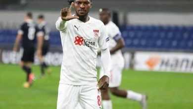 Photo of Kayoda Olanreju scores again to match Victor Moses UEL goal scoring record