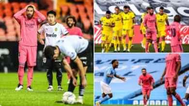 Photo of Valencia 4 Madrid 1: Soler scores three penalties as Los Blancos continue losing streak with pink kits