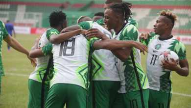 Photo of Iwobi, Osimhen, Chukwueze on target as Nigeria lead 4-1 against Sierra Leone