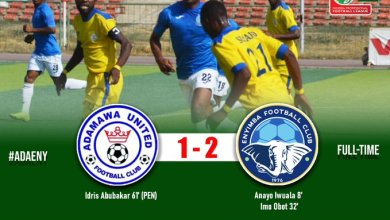 Photo of Enyimba scrape away victory at Adamawa United