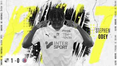 Photo of Odey the matchwinner as Amiens SC win in Ligue 2
