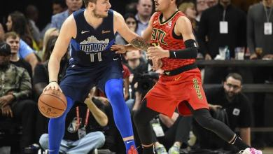 Photo of Doncic hits triple double in Mavericks win, Nuggets rout Cavs in NBA