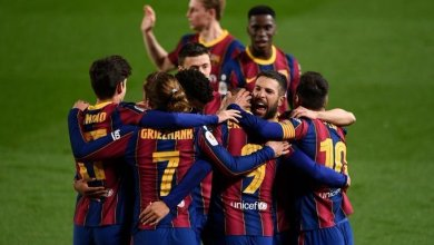Photo of Barcelona complete unlikely comeback, through to 6th cup final in 7 years
