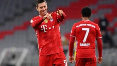 Photo of Lewandowski, Haaland light up Der Klassiker as Bayern triumph 4-2