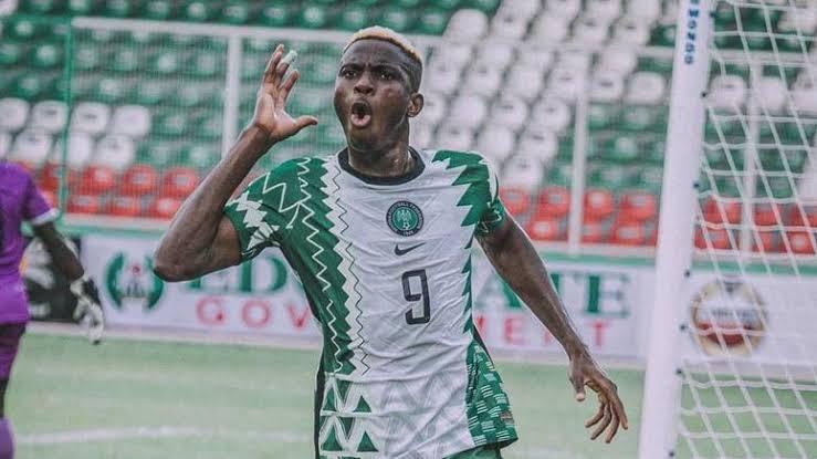 Super Eagles striker Victor Osimhen