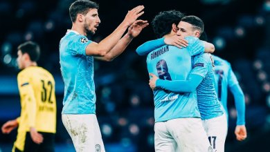 Photo of Foden scores winner as Manchester City win first leg 2-1