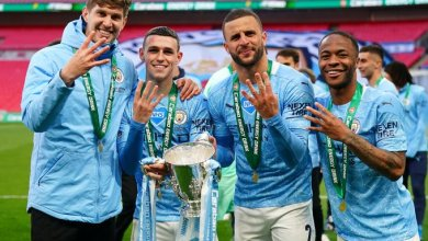 Photo of Laporte guides Manchester City to fourth successive Carabao Cup win