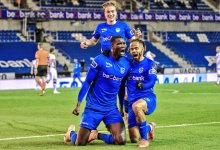 Photo of Onuachu scores 31st league goal in Genk humbling of Club Brugge