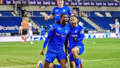 Photo of Onuachu scores 31st league goal in Genk humbling of Club Brugge