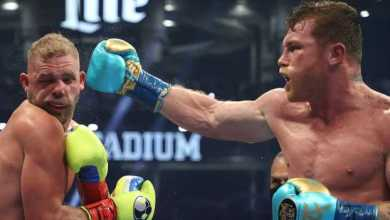 Photo of Canelo makes Saunders his 7th British victim to become unified super-middleweight champion