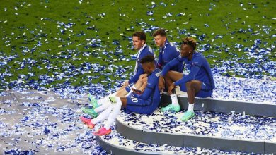 Photo of Abraham leads as Chelsea players celebrate UCL win with Olamide, Omah Lay Infinity