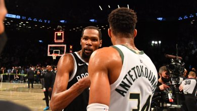 Photo of Antetokoumpo stars as Bucks secure OT win in Game 7 to edge out Nets