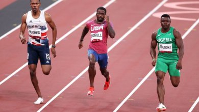 Photo of Enoch Adegoke the fastest African, one of the fastest in 100m going to semis