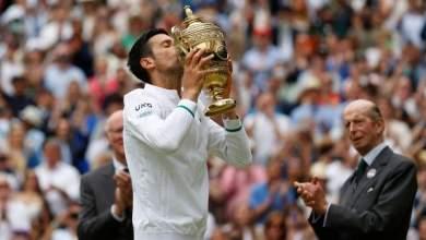 Photo of Magical number twenty for Djokovic as he defeats Berrettini in Wimbledon final