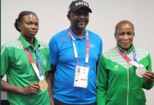 Photo of Team Nigeria Tokyo medallists Oborodudu and Brume gets cash reward