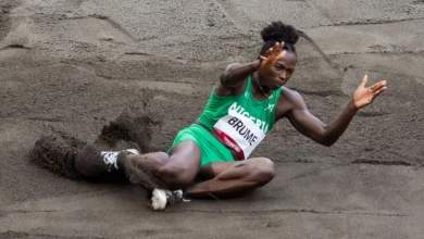 Photo of Ese Brume wins Bronze in Long Jump for Nigeria's first medal at Tokyo 2020