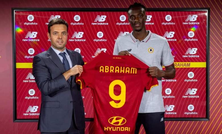 Abraham rejects Barça and Arsenal, completes AS Roma transfer Football   Nigeria sports news, transfers & gossips