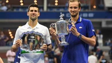 Photo of Medveded thrashes Djokovic in US Open final to win first grand slam