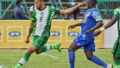 Photo of Osimhen scores as Super Eagles defeat CAR in World Cup Qualifier