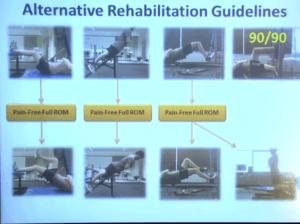 Alternative Eccentric Hamstring Rehab Exercises