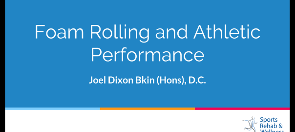 Foam Rolling and Athletic Performance