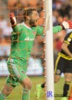 Houston Dynamo Goalkeeper Tyler Deric #1 During a game between the Houston Dynamo and Columbus Crew SC, week 2 of the 2017 MLS season.The Dynamo would win by a score of 3-1.