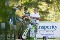 During the first round of the Insperity Invitational Golf Tournament, TPC The Woodlands.