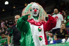 Mexican Clown Prior to friendly Match between Mexico National Team and Ghana National Team at NRG Stadium ,June 28,2017 Houston Tx.