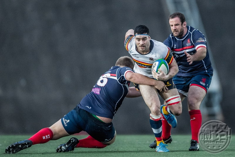 rugby_HKCC flanker Matt Lamming returned to action for the first time in two weeks