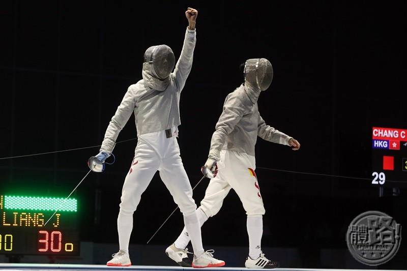 AFC2017_Fencing_MEN'S SABRE TEAM_BRONZE_A86I8350