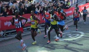 Men's elite field at the 2013 London Marathon