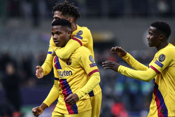 Ansu Fati breaks record as Barcelona dump Inter Milan out, Jadon Sancho scores, Ajax eliminated – What you m