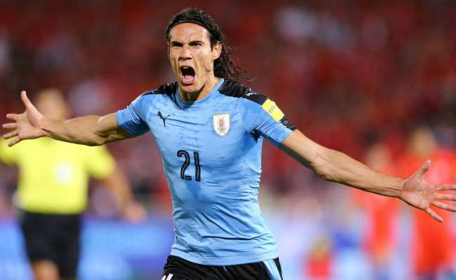 Edinson Cavani Leads Uruguay In World Cup As An Athlete